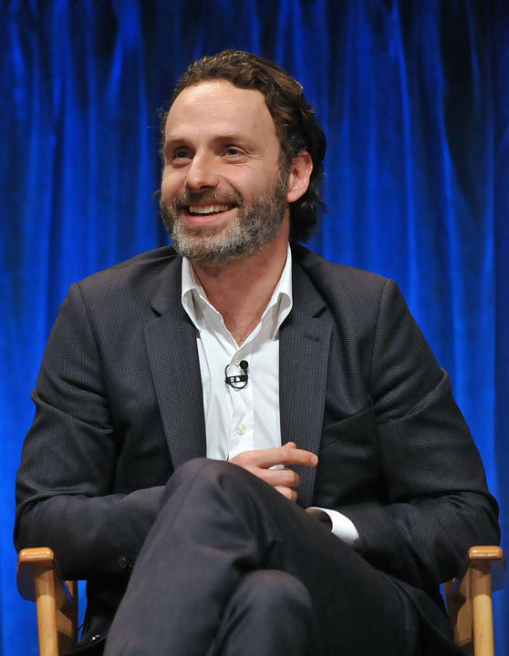 "<div class=""meta image-caption""><div class=""origin-logo origin-image ""><span></span></div><span class=""caption-text"">Photo of Andrew Lincoln courtesy of Samsung Galaxy, during the Paley Center for Media's PaleyFest, honoring The Walking Dead, at the Saban Theatre, Friday March 1, 2013 in Los Angeles, California. (Photo/Kevin Parry for PaleyFest Media)</span></div>"