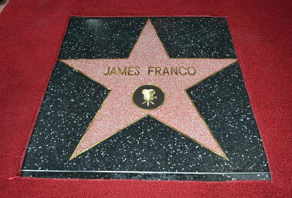 A general view of the atmosphere at a ceremony honoring James Franco with a star on The Hollywood Walk of Fame on March 7, 2013 in Hollywood, California.   <span class=meta>(Alberto E. Rodriguez&#47;WireImage)</span>