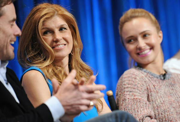 Photo of Connie Britton taken during the Paley...
