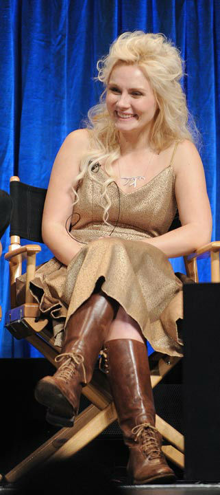 Photo of Clare Bowen taken during the Paley...