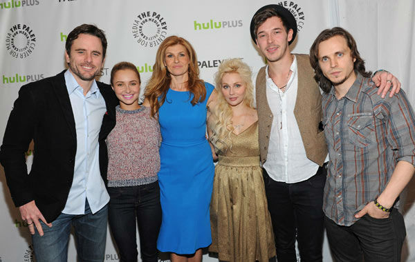 "<div class=""meta ""><span class=""caption-text "">Photo of the cast during the Paley Center for Media's PaleyFest, honoring the cast of 'Nashville' at the Saban Theatre, Saturday March 9, 2013 in Los Angeles, California. (Photo/Kevin Parry for Paley Center for Media)</span></div>"