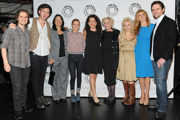 Photo of the cast during the Paley Center for...