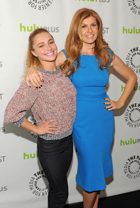 Photo of Connie Britton and Hayden Panettiere...