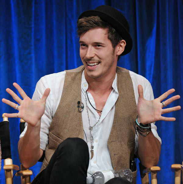 Photo of Sam Palladio during the Paley Center...
