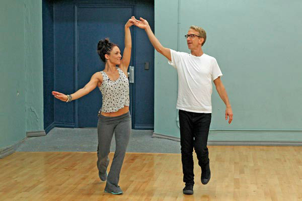 &#39;Dancing With The Stars&#39; season 16 cast members Andy Dick and partner Sharna Burgess rehearse ahead of the premiere on March 18, 2013. <span class=meta>(ABC Photo&#47; Rick Rowell)</span>