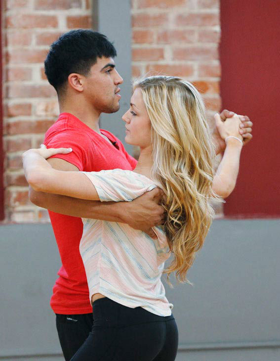 "<div class=""meta image-caption""><div class=""origin-logo origin-image ""><span></span></div><span class=""caption-text"">'Dancing With The Stars' season 16 cast members Victor Ortiz and partner Lindsay Arnold rehearse ahead of the premiere on March 18, 2013. (ABC Photo/ Rick Rowell)</span></div>"