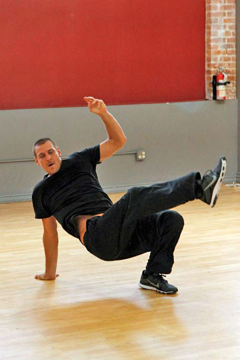 &#39;Dancing With The Stars&#39; season 16 cast member Ingo Rademacher rehearses ahead of the premiere on March 18, 2013. <span class=meta>(ABC Photo&#47; Rick Rowell)</span>