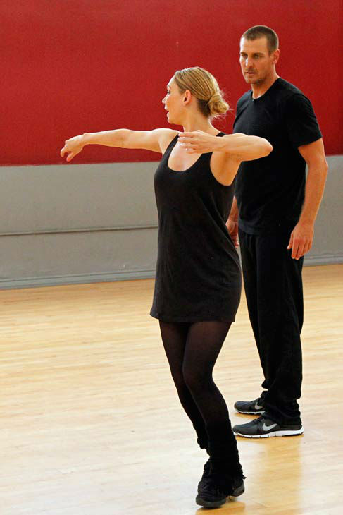 "<div class=""meta ""><span class=""caption-text "">'Dancing With The Stars' season 16 cast members Ingo Rademacher and partner Kym Johnson rehearse ahead of the premiere on March 18, 2013. (ABC Photo/ Rick Rowell)</span></div>"