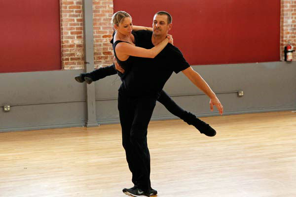 &#39;Dancing With The Stars&#39; season 16 cast members Ingo Rademacher and partner Kym Johnson rehearse ahead of the premiere on March 18, 2013. <span class=meta>(ABC Photo&#47; Rick Rowell)</span>