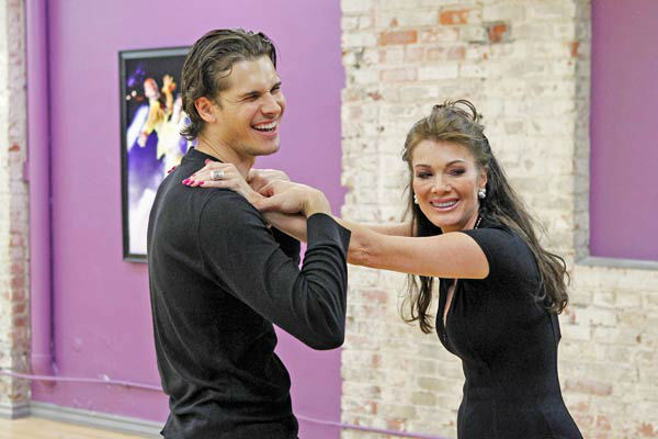 'Dancing With The Stars' season 16 cast members Lisa Vanderpump and partne