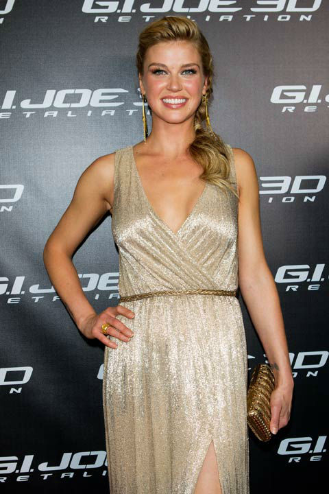 Adrianne Palicki arrives at &#39;G.I.Joe: Retaliation&#39; Australian premiere at Event Cinemas George Street on March 14, 2013 in Sydney, Australia.  <span class=meta>(Caroline McCredie &#47; Getty Images for Paramount Pictures)</span>