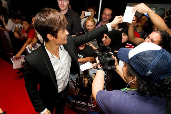 "<div class=""meta image-caption""><div class=""origin-logo origin-image ""><span></span></div><span class=""caption-text"">Byung-Hun Lee arrives at 'G.I.Joe: Retaliation' Australian premiere at Event Cinemas George Street on March 14, 2013 in Sydney, Australia. (Caroline McCredie / Getty Images for Paramount Pictures)</span></div>"