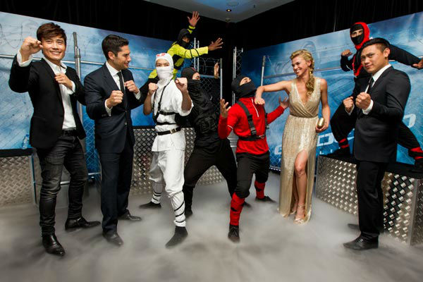 Byung-Hun Lee, DJ Cotrona, Adrianne Palicki and...