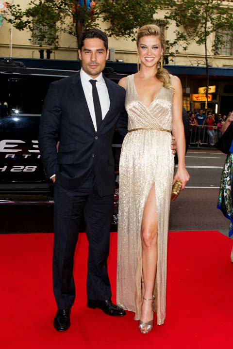 DJ Cotrona and Adrianne Palicki arrive at &#39;G.I.Joe: Retaliation&#39; Australian premiere at Event Cinemas George Street on March 14, 2013 in Sydney, Australia. <span class=meta>(Caroline McCredie &#47; Getty Images for Paramount Pictures)</span>