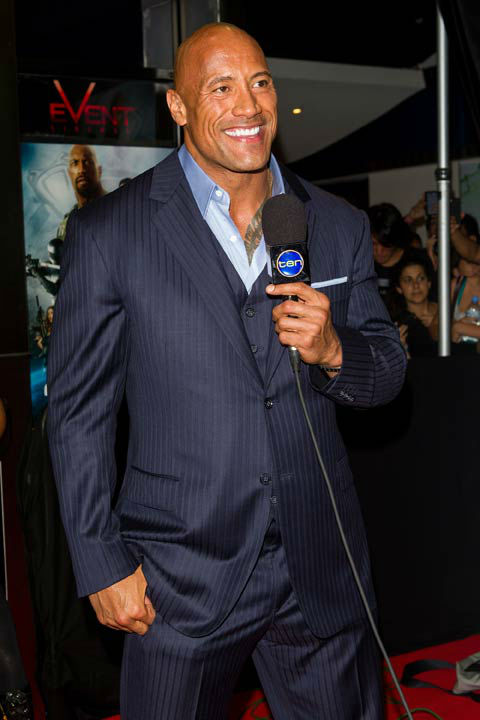 "<div class=""meta ""><span class=""caption-text "">Dwayne Johnson arrives at ""G.I.Joe: Retaliation"" Australian premiere at Event Cinemas George Street on March 14, 2013 in Sydney, Australia. (Photo by Caroline McCredie/Getty Images for Paramount Pictures) (Caroline McCredie / Getty Images for Paramount Pictures)</span></div>"