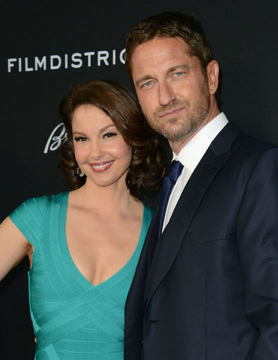 Ashley Judd and Gerard Butler pose at the LA premiere of &#39;Olympus Has Fallen&#39; at the ArcLight Theatre on Monday, March 18, 2013 in Los Angeles. <span class=meta>(Photo&#47;Jordan Strauss)</span>