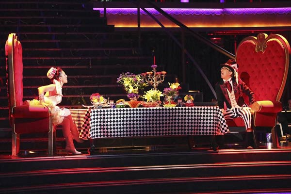 "<div class=""meta image-caption""><div class=""origin-logo origin-image ""><span></span></div><span class=""caption-text"">Actor and comedian Andy Dick and his partner Sharna Burgess received 20 out of 30 points from the judges for their Jazz routine on week 2 of 'Dancing With The Stars,' which aired on March 25, 2013. They received a total of 37 out of 60 points for the past two weeks of performances. (ABC Photo / Adam Taylor)</span></div>"