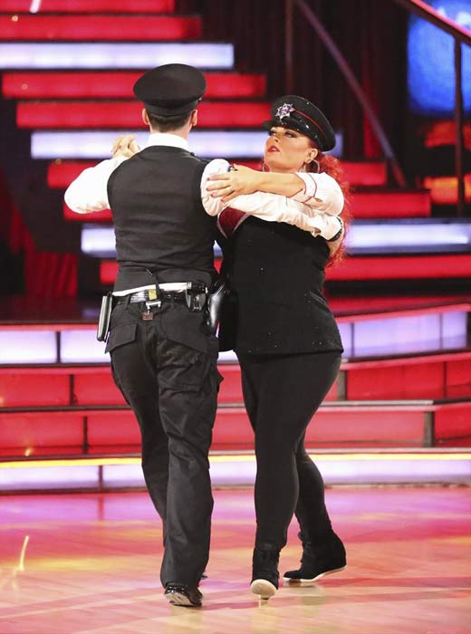 "<div class=""meta ""><span class=""caption-text "">Singer Wynonna Judd and her partner Tony Dovolani received 18 out of 30 points from the judges for their Quickstep routine on week 2 of 'Dancing With The Stars,' which aired on March 25, 2013. They received a total of 36 out of 60 points for the past two weeks of performances. (ABC Photo)</span></div>"
