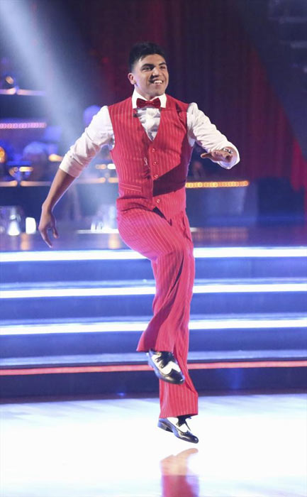 "<div class=""meta image-caption""><div class=""origin-logo origin-image ""><span></span></div><span class=""caption-text"">Boxer Victor Ortiz and his partner Lindsay Arnold received 18 out of 30 points from the judges for their Jive routine on week 2 of 'Dancing With The Stars,' which aired on March 25, 2013. They received a total of 36 out of 60 points for the past two weeks of performances. (ABC Photo / Adam Taylor)</span></div>"