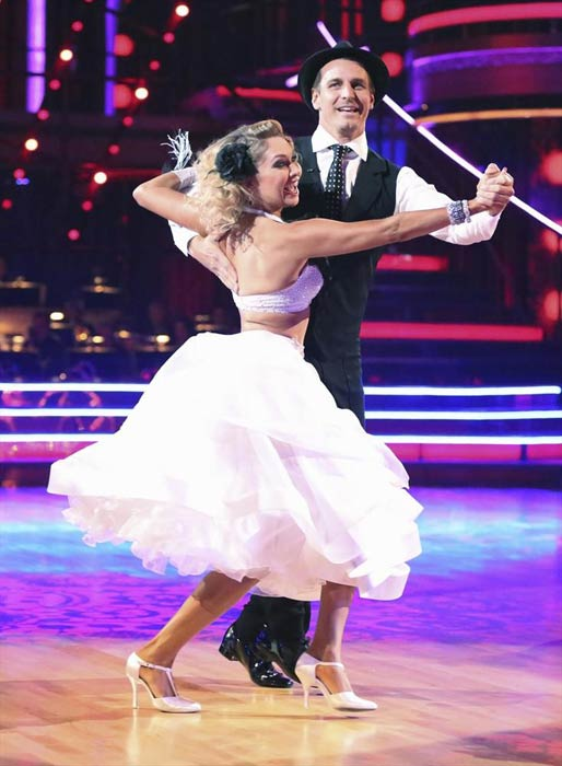 "<div class=""meta image-caption""><div class=""origin-logo origin-image ""><span></span></div><span class=""caption-text"">Actor Ingo Rademacher and his partner Kym Johnson received 20 out of 30 points from the judges for their Quickstep routine on week 2 of 'Dancing With The Stars,' which aired on March 25, 2013. They received a total of 40 out of 60 points for the past two weeks of performances. (ABC Photo)</span></div>"