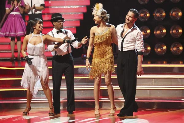 &#39;Shake It Up&#39; actress Zendaya Coleman and her partner Val Chmerkovskiy appear on the first results show for &#39;Dancing With The Stars&#39; season 16, which aired on March 26, 2013. They had received a total of 50 out of 60 points for the past two weeks of performances.  <span class=meta>(ABC Photo &#47; Adam Taylor)</span>