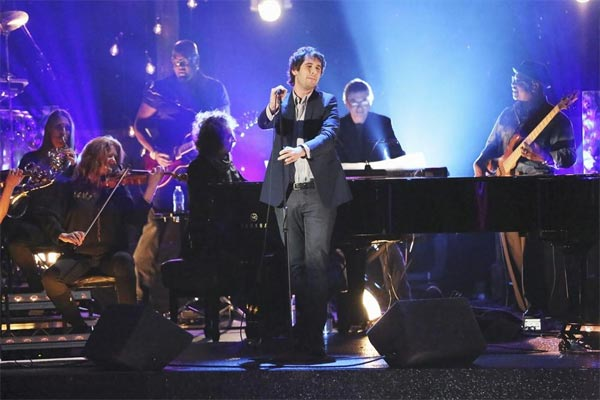 "<div class=""meta image-caption""><div class=""origin-logo origin-image ""><span></span></div><span class=""caption-text"">Josh Groban performs on the first results show for 'Dancing With The Stars' season 16, which aired on March 26, 2013.  (ABC Photo / Adam Taylor)</span></div>"