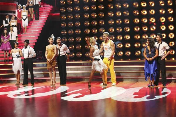 "<div class=""meta image-caption""><div class=""origin-logo origin-image ""><span></span></div><span class=""caption-text"">Former 'Bachelor' star Sean Lowe and his partner Peta Murgatroyd appear on the first results show for 'Dancing With The Stars' season 16, which aired on March 26, 2013. They had received a total of 39 out of 60 points for the past two weeks of performances. (ABC Photo / Adam Taylor)</span></div>"