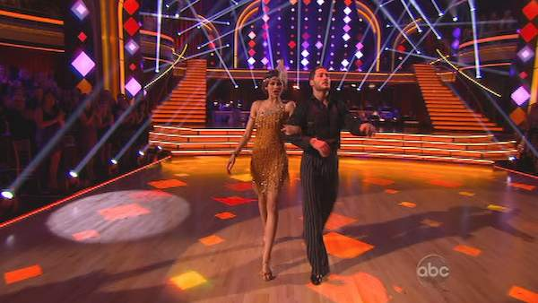 "<div class=""meta image-caption""><div class=""origin-logo origin-image ""><span></span></div><span class=""caption-text"">'Shake It Up' actress Zendaya Coleman and her partner Val Chmerkovskiy dance on the first results show for 'Dancing With The Stars' season 16, which aired on March 26, 2013. They had received a total of 50 out of 60 points for the past two weeks of performances.  (ABC Photo / Adam Taylor)</span></div>"