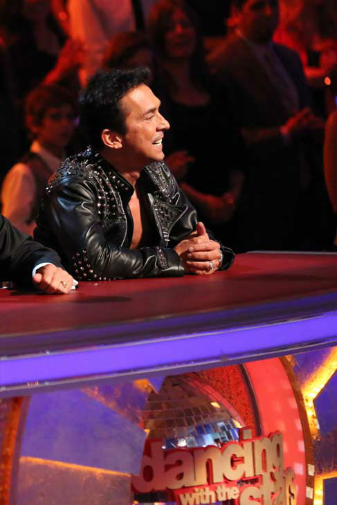 Judge Bruno Tonioli appears on &#39;Dancing With The Stars&#39; on April 2, 2013. <span class=meta>(ABC Photo&#47; Adam Taylor)</span>