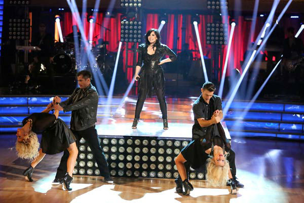 Demi Lovato returned to the ballroom on 'Dancing With The Stars: The Results Show' on