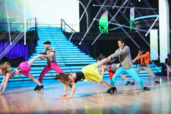 The first &#39;Macy&#39;s Stars of Dance Performance&#39; of the &#39;Dancing With The Stars&#39; season aired on April 2, 2013. Choreographed by Nick Florez and RJ Durell, the performance had eight of the hottest dancers working in the industry. <span class=meta>(ABC Photo&#47; Adam Taylor)</span>