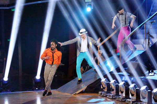 "<div class=""meta ""><span class=""caption-text "">The first 'Macy's Stars of Dance Performance' of the 'Dancing With The Stars' season aired on April 2, 2013. Choreographed by Nick Florez and RJ Durell, the performance had eight of the hottest dancers working in the industry. (ABC Photo/ Adam Taylor)</span></div>"