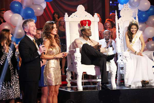 "<div class=""meta ""><span class=""caption-text "">Zendaya Coleman and Jacoby Jones were named Prom Queen and King on 'Dancing With The Stars: The Results Show' on April 2, 2013.  (ABC Photo/ Adam Taylor)</span></div>"