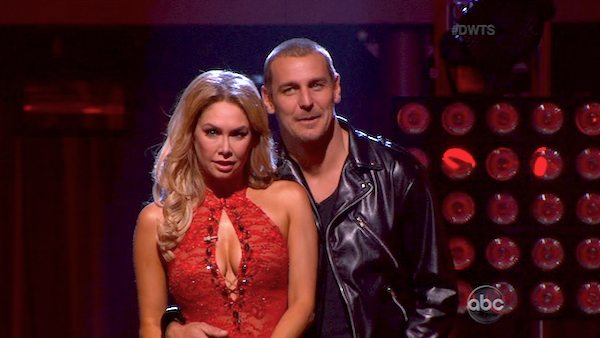 "<div class=""meta ""><span class=""caption-text "">Actor Ingo Rademacher and his partner Kym Johnson appear on the second results show for 'Dancing With The Stars' season 16, which aired on Tuesday, April 2, 2013. They had received a total of 21 out of 30 points for their week 3 performance on Monday. (ABC)</span></div>"