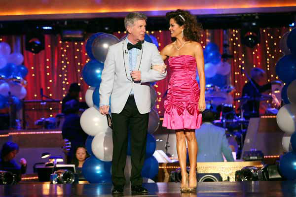 "<div class=""meta image-caption""><div class=""origin-logo origin-image ""><span></span></div><span class=""caption-text"">Tom Bergeron and Brooke Burke-Charvet appear on 'Dancing With The Stars' on April 1, 2013. (ABC Photo/ Adam Taylor)</span></div>"