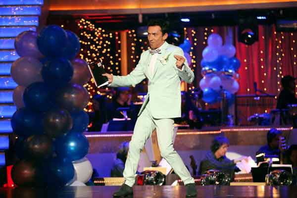 Bruno Tonioli appears on 'Dancing With The Stars' on April 1, 2013.