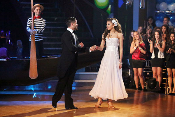 "<div class=""meta image-caption""><div class=""origin-logo origin-image ""><span></span></div><span class=""caption-text"">'Shake It Up' actress Zendaya Coleman and her partner Val Chmerkovskiy received 24 out of 30 points from the judges for their Viennese Waltz during week three of 'Dancing With The Stars,' which aired on April 1, 2013. (ABC Photo/ Adam Taylor)</span></div>"