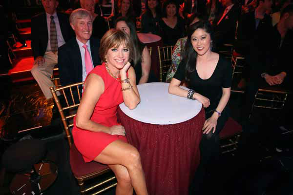 Dorothy Hamill and Kristi Yamaguchi appear on &#39;Dancing With The Stars&#39; on April 1, 2013. <span class=meta>(ABC Photo&#47; Adam Taylor)</span>
