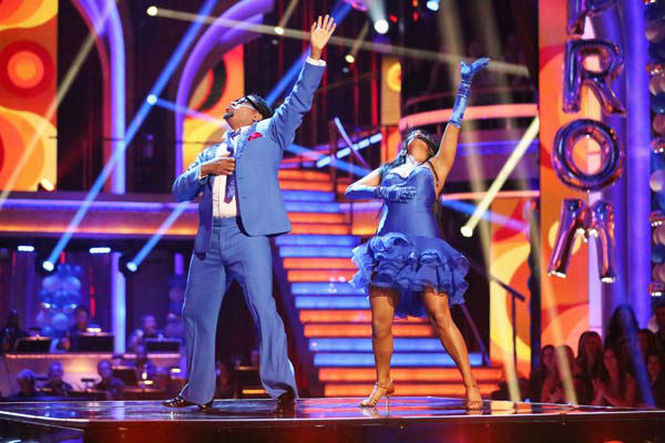 "<div class=""meta image-caption""><div class=""origin-logo origin-image ""><span></span></div><span class=""caption-text"">Actor and comedian D.L. Hughley and his partner Cheryl Burke received 16 out of 30 points from the judges for their Salsa routine during week three of 'Dancing With The Stars,' which aired on April 1, 2013. (ABC Photo/ Adam Taylor)</span></div>"