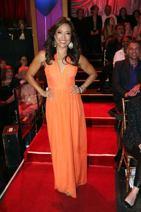 Carrie Ann Inaba appears on &#39;Dancing With The Stars&#39; on April 1, 2013. <span class=meta>(ABC Photo&#47; Adam Taylor)</span>