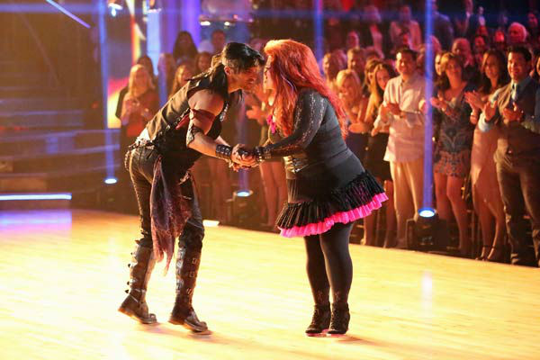 "<div class=""meta ""><span class=""caption-text "">Singer Wynonna Judd and her partner Tony Dovolani received 15 out of 30 points from the judges for their Cha Cha Cha routine during week three of 'Dancing With The Stars,' which aired on April 1, 2013. (ABC Photo/ Adam Taylor)</span></div>"