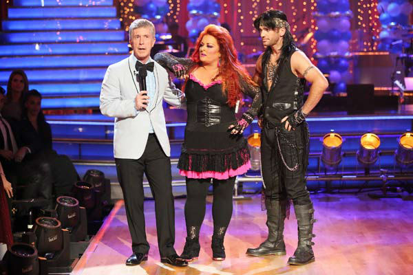 Singer Wynonna Judd and her partner Tony Dovolani received 15 out of 30 points from the judges for their Cha Cha Cha routine during week three of &#39;Dancing With The Stars,&#39; which aired on April 1, 2013. <span class=meta>(ABC Photo&#47; Adam Taylor)</span>