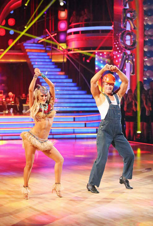 Former &#39;Bachelor&#39; star Sean Lowe and his partner Peta Murgatroyd received 21 out of 30 points from the judges for their Cha Cha Cha routine during week three of &#39;Dancing With The Stars,&#39; which aired on April 1, 2013.  <span class=meta>(ABC Photo&#47; Adam Taylor)</span>