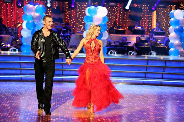 Actor Ingo Rademacher and his partner Kym Johnson received 21 out of 30 points from the judges for their Paso Doble routine during week three of &#39;Dancing With The Stars,&#39; which aired on April 1, 2013. <span class=meta>(ABC Photo&#47; Adam Taylor)</span>