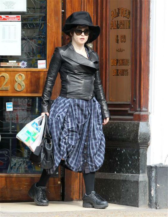 Helena Bonham Carter appears in London on April 8, 2013. <span class=meta>(Beretta &#47; Sims &#47; Rex &#47; Startraksphoto.com)</span>