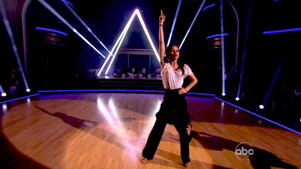 &#39;Shake It Up&#39; actress Zendaya Coleman and her partner Val Chmerkovskiy received 26 out of 30 points from the judges for their Samba during week 4 of season 16 of &#39;Dancing With The Stars,&#39; which aired on April 8, 2013. <span class=meta>(ABC)</span>