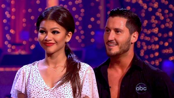 "<div class=""meta ""><span class=""caption-text "">'Shake It Up' actress Zendaya Coleman and her partner Val Chmerkovskiy received 26 out of 30 points from the judges for their Samba during week 4 of season 16 of 'Dancing With The Stars,' which aired on April 8, 2013. (ABC)</span></div>"