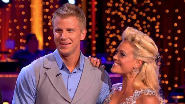 Former &#39;Bachelor&#39; star Sean Lowe and his partner Peta Murgatroyd received 20 out of 30 points from the judges for their Viennese Waltz during week 4 of season 16 of &#39;Dancing With The Stars,&#39; which aired on April 8, 2013. <span class=meta>(ABC)</span>