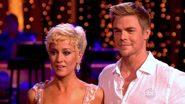 Kellie Pickler and partner Derek Hough received 26 out of 30 points from the judges for their Rumba during week 4 of season 16 of &#39;Dancing With The Stars,&#39; which aired on April 8, 2013. <span class=meta>(ABC)</span>