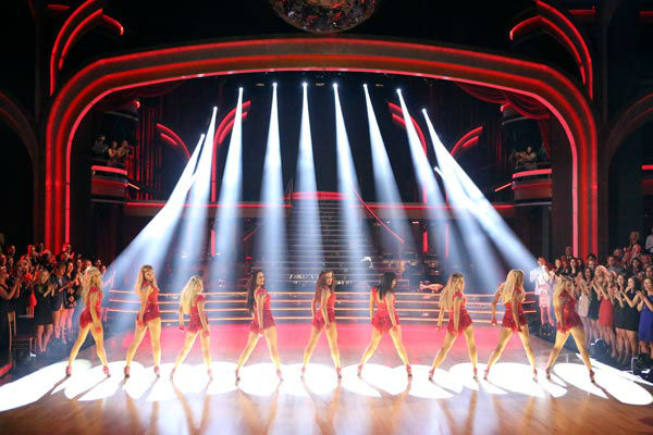The female Pro and Troupe dancers of &#39;Dancing With The Stars&#39; performed a special opening number on &#39;Dancing With The Stars: The Results Show&#39; on April 9, 2013. <span class=meta>(ABC Photo&#47; Adam Taylor)</span>